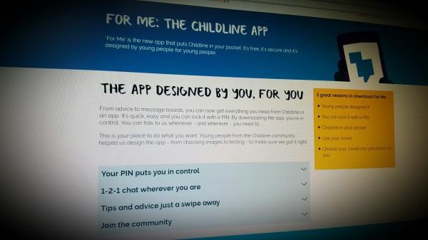 FOR ME: THE CHILDLINE APP