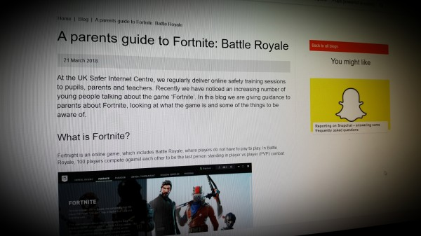A parents guide to Fortnite: Battle Royale