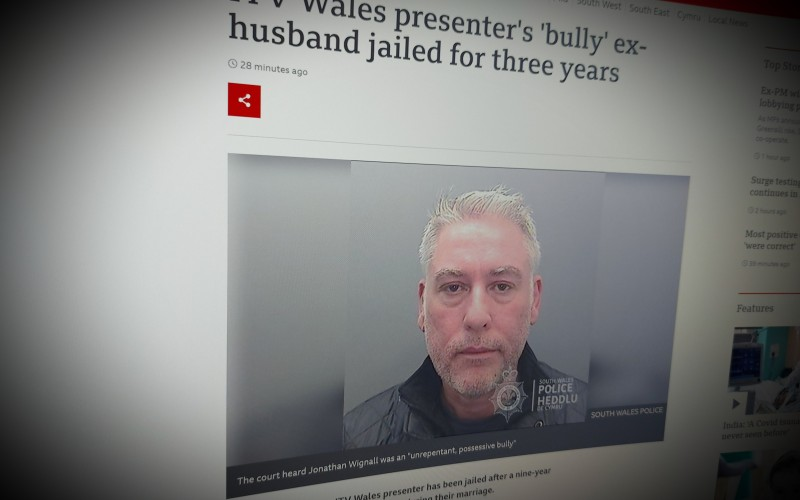 The ex-husband jailed after a nine-year campaign of harassment and stalking