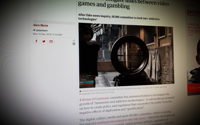 MPs to investigate links between video games and gambling