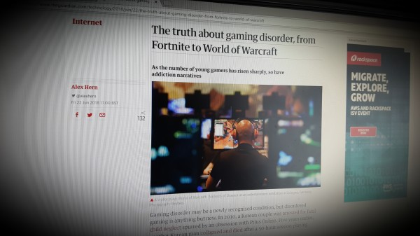 The truth about gaming disorder, from Fortnite to World of Warcraft