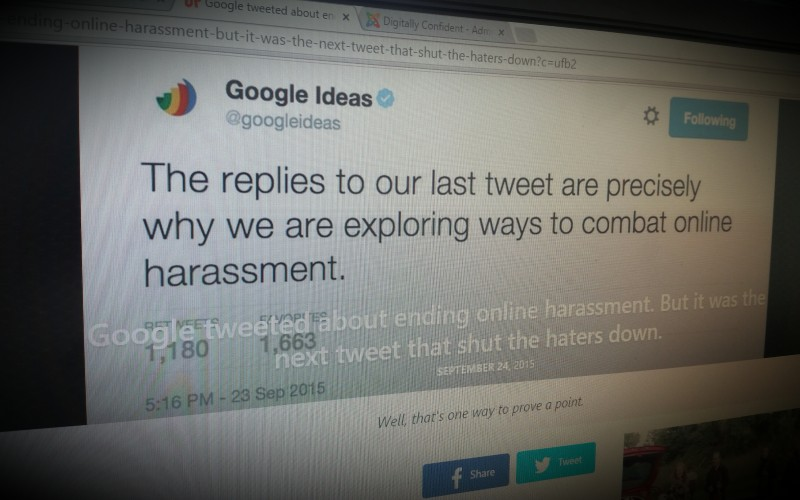 Google Ideas-  Sexism and Online Bullying