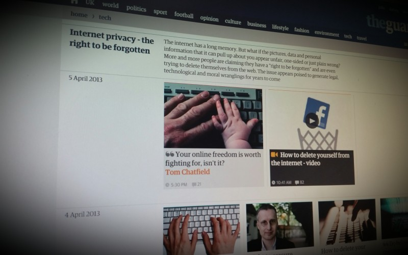 Internet Privacy Resources at The Guardian