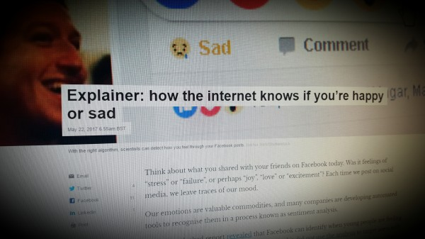 How the internet knows if you're happy or sad