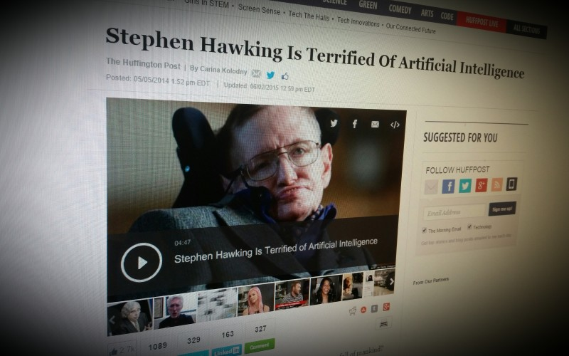 Stephen Hawking Is Terrified Of Artificial Intelligence