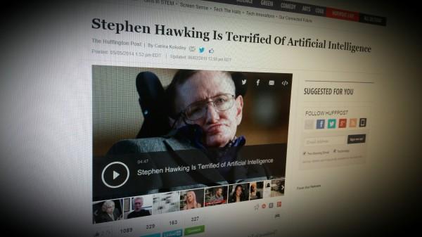 Stephen Hawking Is Terrified Of Artificial Intelligence