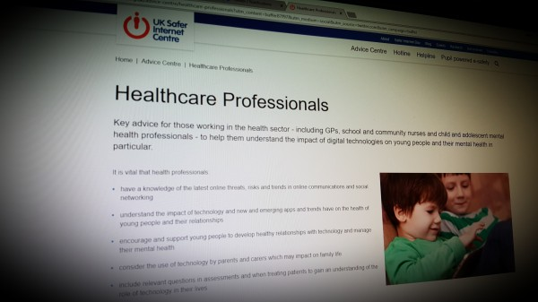 Online Safety Advice for Healthcare Professionals