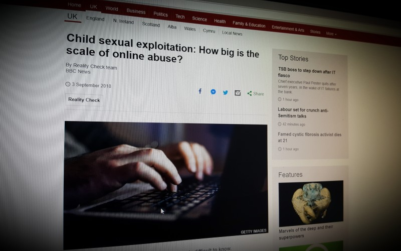 Child sexual exploitation: How big is the scale of online abuse?
