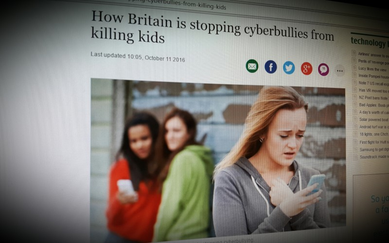How Britain is stopping cyberbullies from killing kids