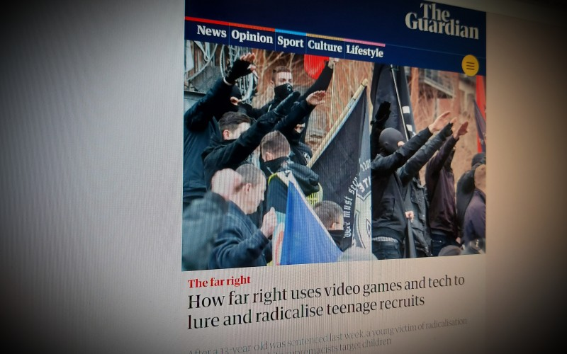 How far right uses video games and tech to lure and radicalise teenage recruits