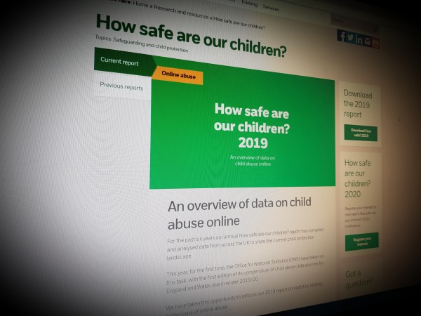 How safe are our children? NSPCC  2019 report