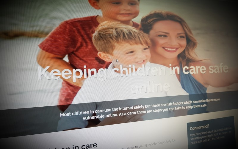 Keeping children in care safe online
