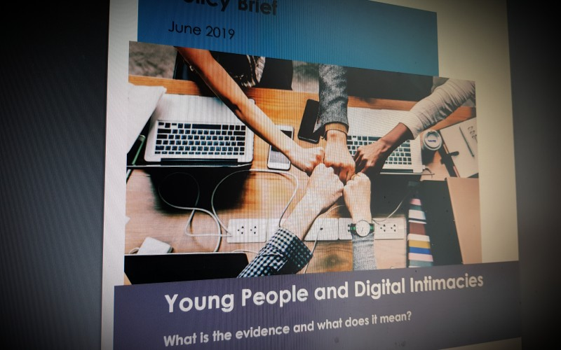 Young People and Digital Intimacies