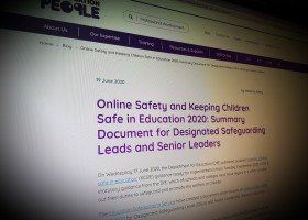 Online Safety and Keeping Children Safe in Education 2020: Summary Document