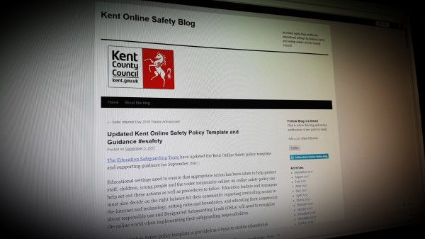Updated Kent Online Safety Policy Template and Guidance