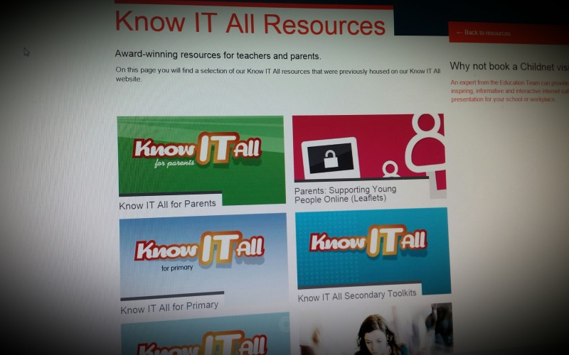 KnowITall - eSafety for Trainee Teachers