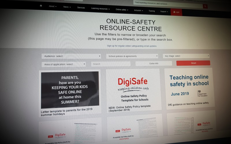 Online Safety Policy Templates for Schools