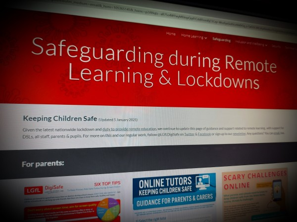 Safeguarding during Remote Learning & Lockdowns