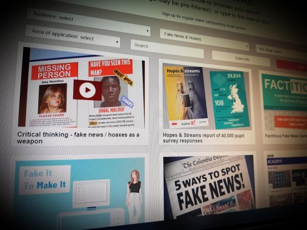 LGFL Safety Resource Centre - Fake News