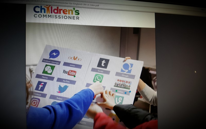 Life in 'likes' Children's Commissioner report into social media use among 8-12 year olds