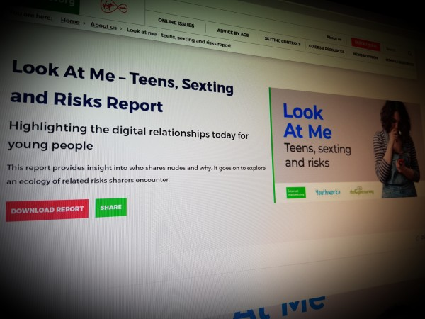 Look At Me – Teens, Sexting and Risks Report
