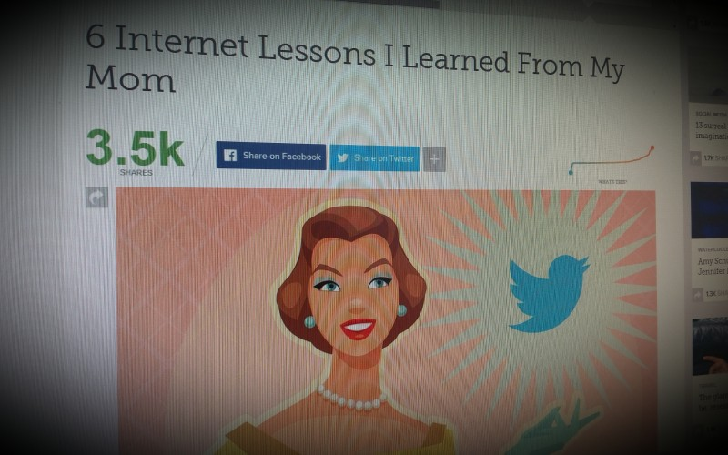6 Internet Lessons I Learned From My Mom