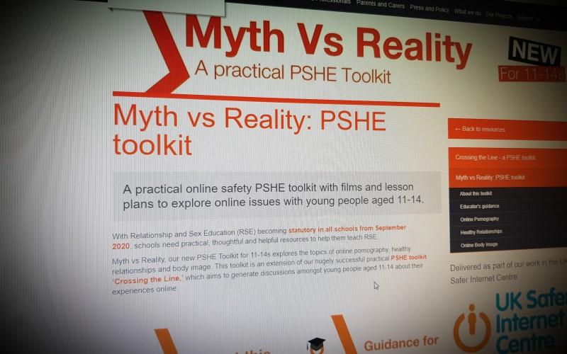 Myth vs Reality: PSHE toolkit