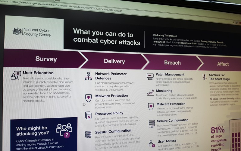 What you can do to combat cyber attacks