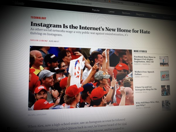 Instagram Is the Internet's New Home for Hate