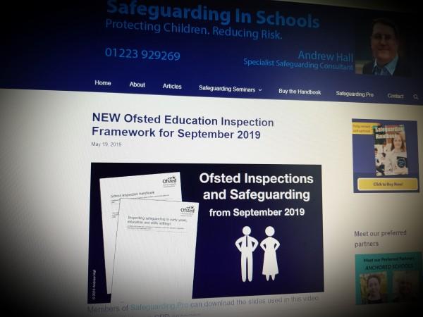 NEW Ofsted Education Inspection Framework for September 2019