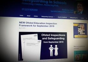 NEW Ofsted Education Inspection Framework for September 2019