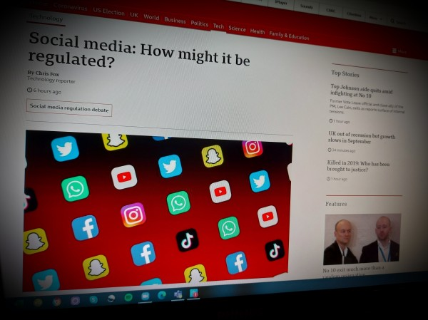 Social media: How might it be regulated?