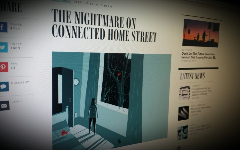 The Nightmare on Connected Home Street