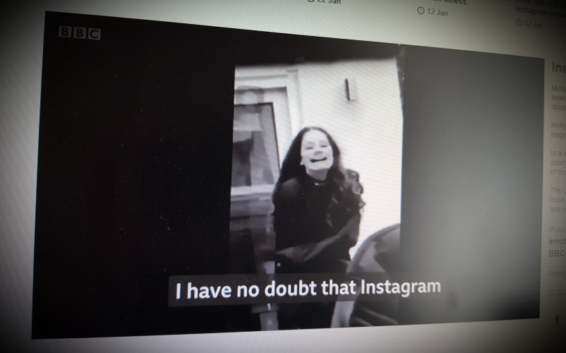 Instagram 'helped kill my daughter'