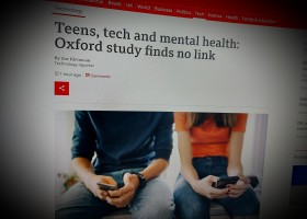 Teens, tech and mental health: Oxford study finds no link