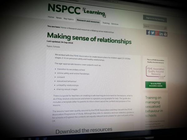 Making sense of relationships