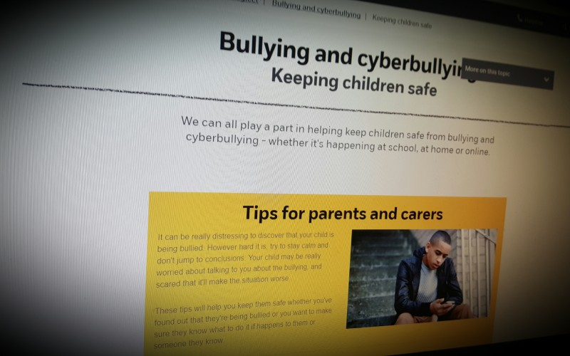 Bullying and cyberbullying Keeping children safe
