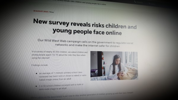 New NSPCC survey reveals risks children and young people face online