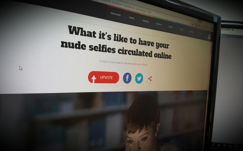 What it's like to have your nude selfies circulated online