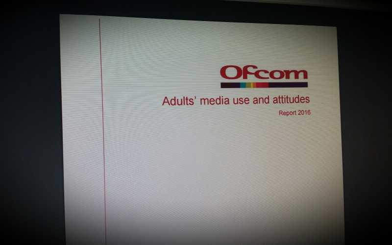 Ofcom's Adults Media Use and Attitudes Report 2016
