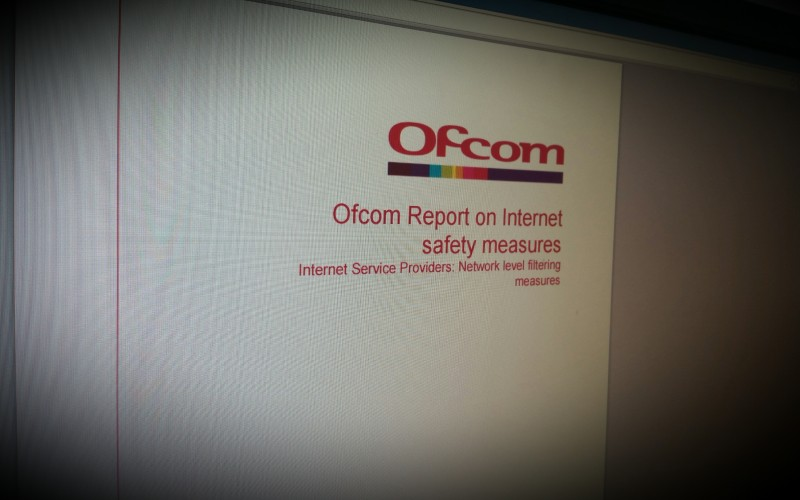 Ofcom report on Internet Safety measures by Internet Service Providers: