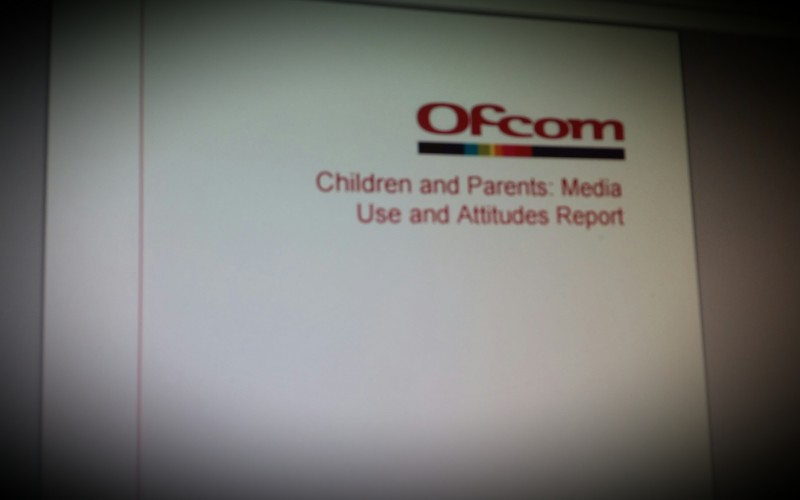 Ofcoms report on children and parent's media use and attitudes