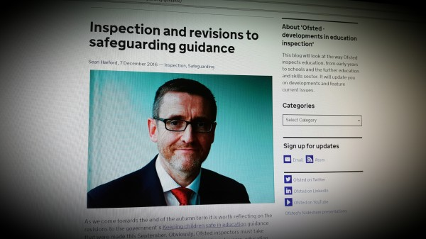 Inspection and revisions to safeguarding guidance