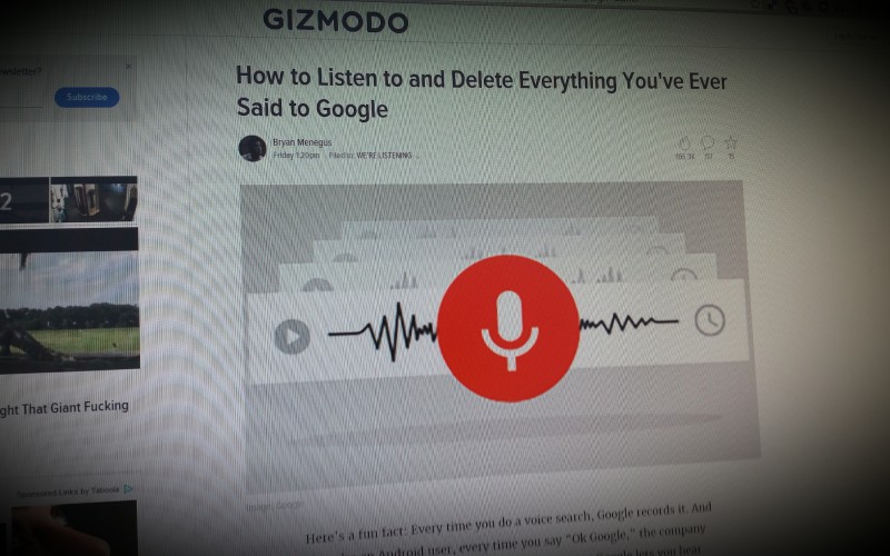 How to Listen to and Delete Everything You've Ever Said to Google