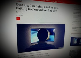 Omegle: 'I'm being used as sex-baiting bot' on video chat site