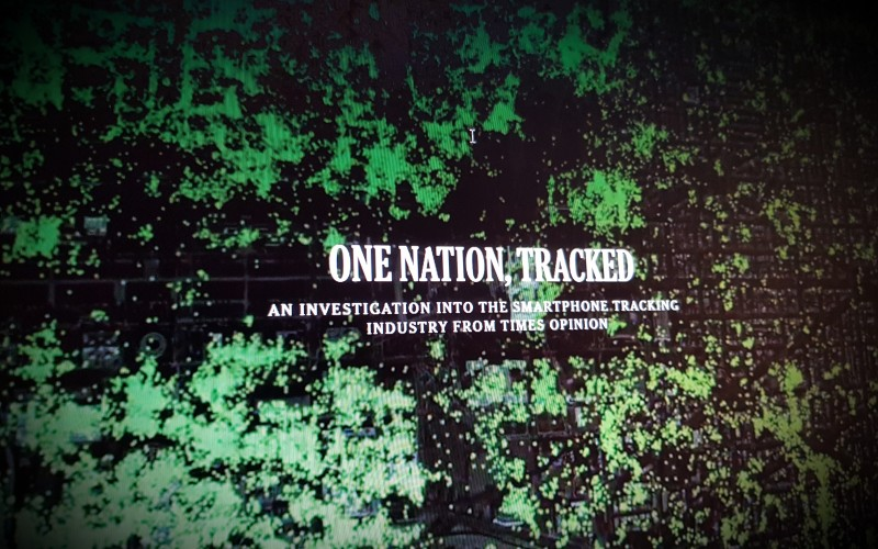 ONE NATION, TRACKED AN INVESTIGATION INTO THE SMARTPHONE TRACKING INDUSTRY