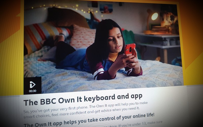 The BBC Own It keyboard and app