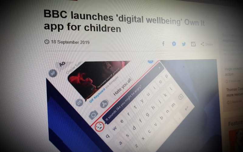 BBC launches 'digital wellbeing' Own It app for children