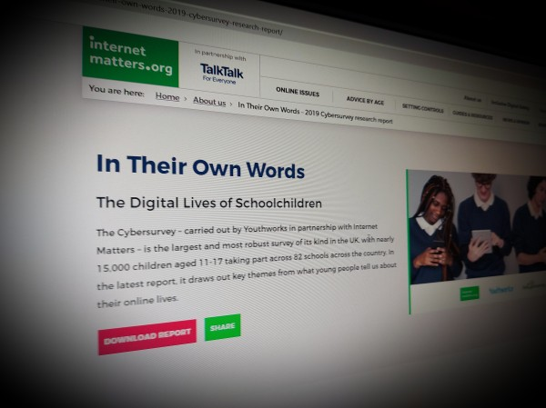 In Their Own Words The Digital Lives of Schoolchildren