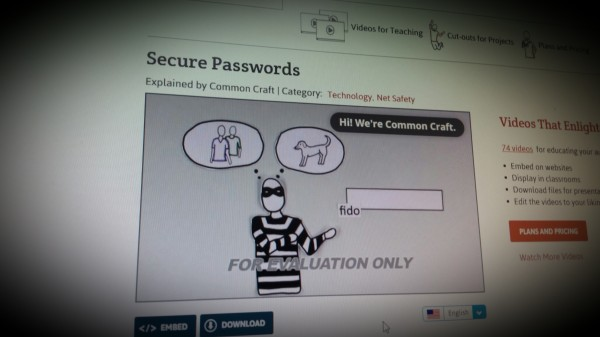 Common Craft - Secure Passwords